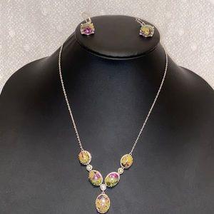 Atlantisite Stichtite-serpentine Vintage Necklace